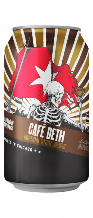 Cafe Deth by Revolution Brewing in Illinois, United States