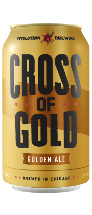 Cross of Gold by Revolution Brewing in Illinois, United States