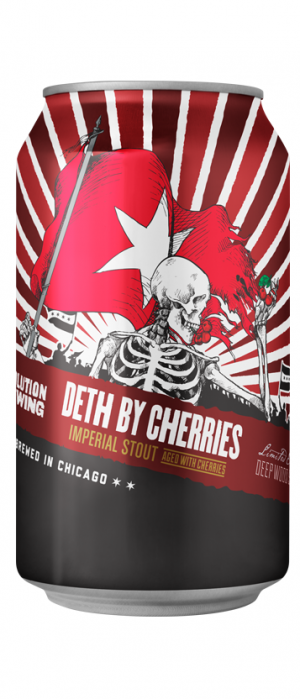 Deth By Cherries by Revolution Brewing in Illinois, United States