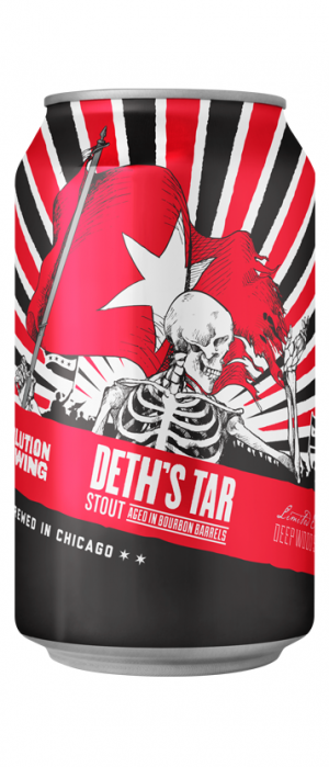 Deth's Tar by Revolution Brewing in Illinois, United States