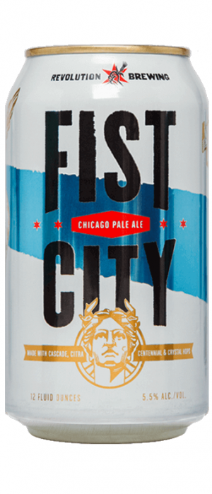 Fist City by Revolution Brewing in Illinois, United States