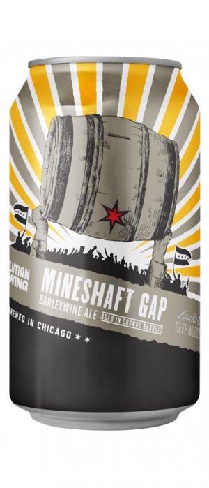 Mineshaft Gap by Revolution Brewing in Illinois, United States