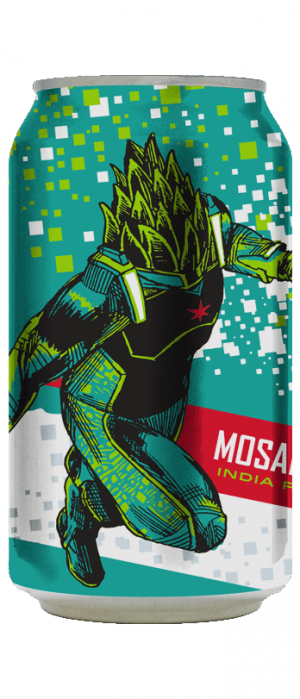 Mosaic Hero by Revolution Brewing in Illinois, United States