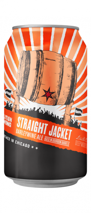 Straight Jacket by Revolution Brewing in Illinois, United States