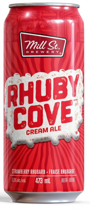 Rhuby Cove Cream Ale by Mill Street Brewery in Ontario, Canada
