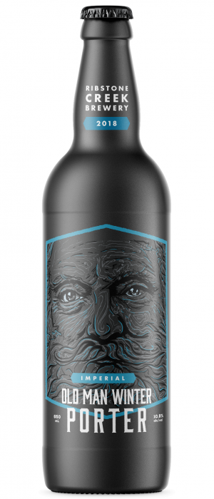 Imperial Old Man Winter by Ribstone Creek Brewery in Alberta, Canada