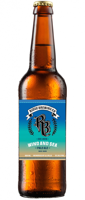 Wind And Sea by Ridge Brewing Company in British Columbia, Canada
