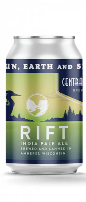 Rift IPA by Central Waters Brewing Company in Wisconsin, United States