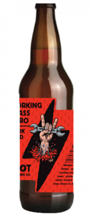 Working Class Hero Dark Mild by Riot Brewing Company in British Columbia, Canada