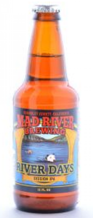 River Days Session IPA by Mad River Brewing in California, United States