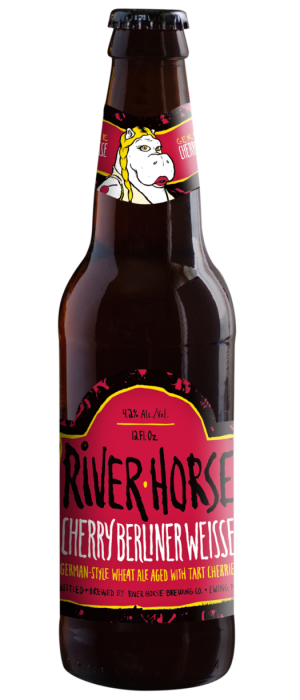 Cherry Berliner Weisse by River Horse Brewing Company in New Jersey, United States