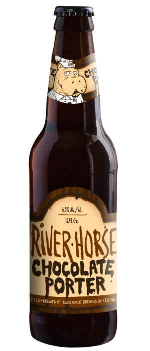 Chocolate Porter by River Horse Brewing Company in New Jersey, United States