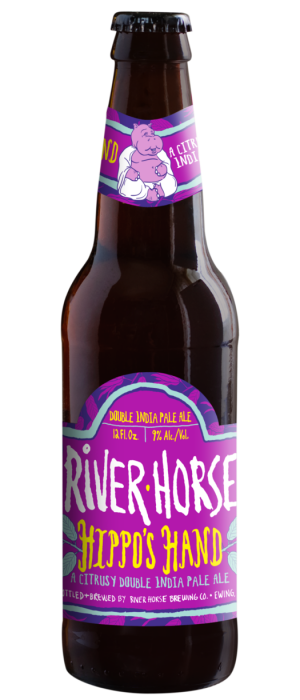 Hippo's Hand Double IPA by River Horse Brewing Company in New Jersey, United States