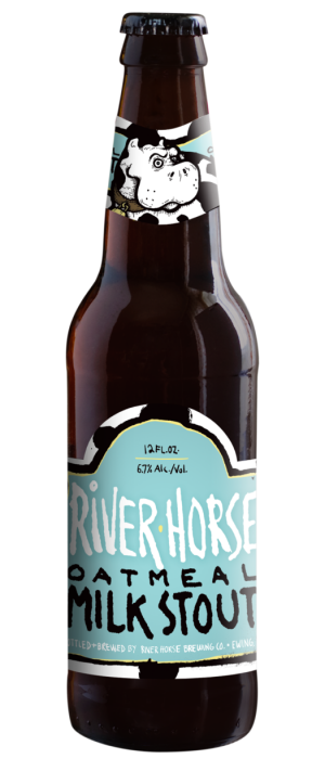 Oatmeal Milk Stout by River Horse Brewing Company in New Jersey, United States