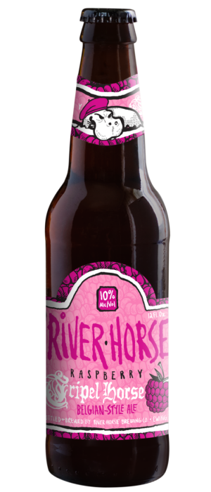 Raspberry Tripel Horse by River Horse Brewing Company in New Jersey, United States