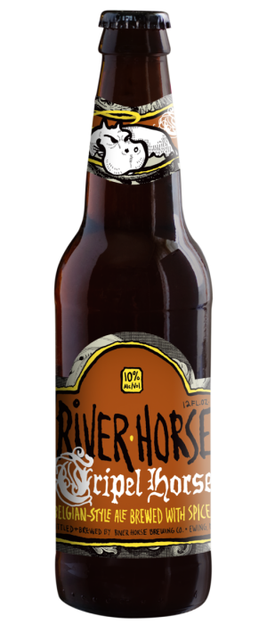 Tripel Horse by River Horse Brewing Company in New Jersey, United States