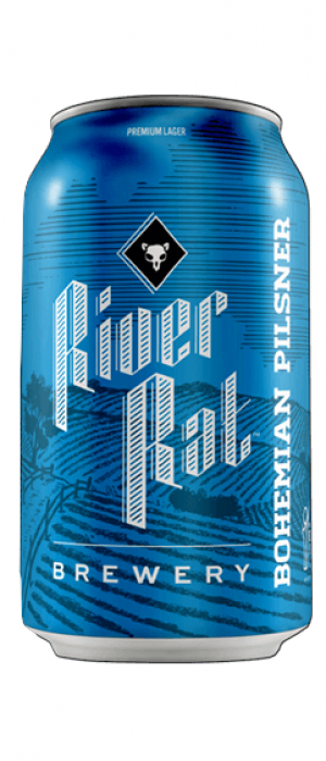 Bohemian Pilsner by River Rat Brewery in South Carolina, United States