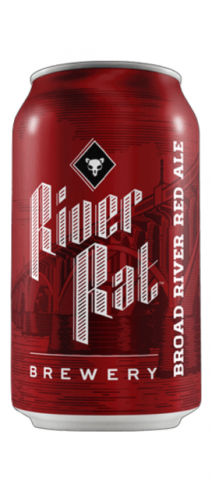 Broad River Red Ale by River Rat Brewery in South Carolina, United States