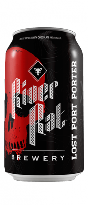 Lost Port Porter by River Rat Brewery in South Carolina, United States