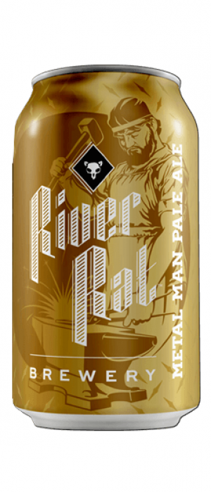 Metal Man Pale Ale by River Rat Brewery in South Carolina, United States