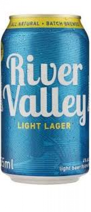 River Valley Light Lager by Big Rock Brewery in Alberta, Canada
