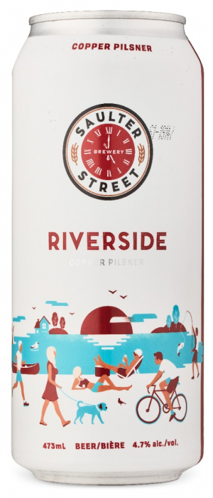 Riverside Copper Pilsner by Saulter Street Brewery in Ontario, Canada