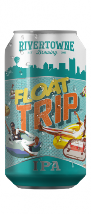 Float Trip IPA by Rivertowne Brewing in Pennsylvania, United States