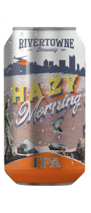 Hazy Morning IPA by Rivertowne Brewing in Pennsylvania, United States