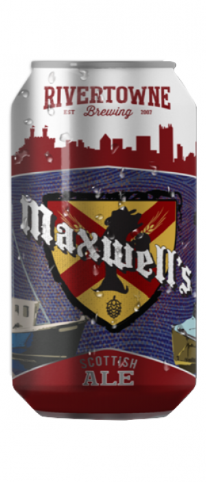 Maxwell's Scottish Ale by Rivertowne Brewing in Pennsylvania, United States