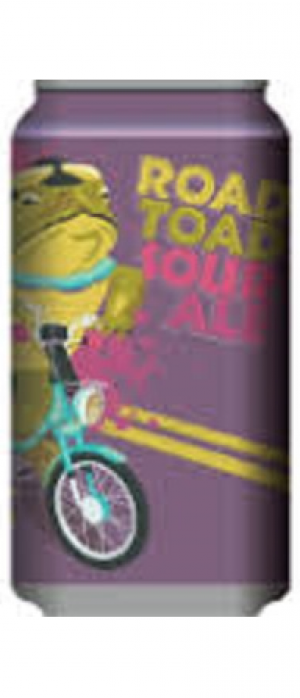 Road Toad Sour Ale by Roughtail Brewing Co. in Oklahoma, United States