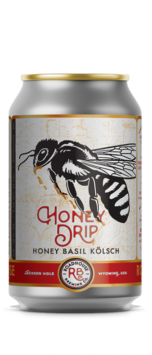 Honey Drip by Roadhouse Brewing Company in Wyoming, United States