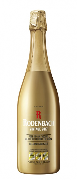 Rodenbach Vintage 2017 Belgian Sour Ale by Rodenbach in West Flanders, Belgium