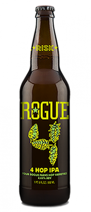4 Hop IPA by Rogue in Oregon, United States