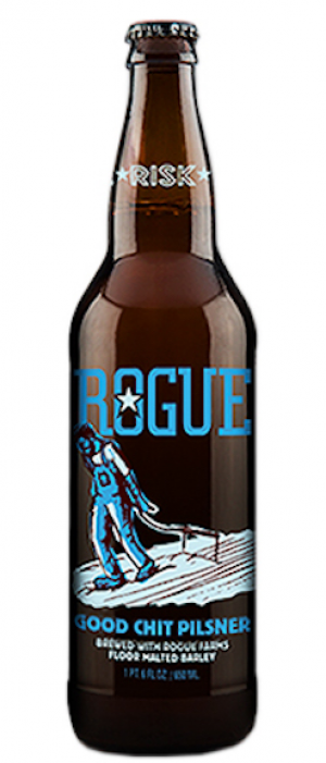 Good Chit Pilsener by Rogue in Oregon, United States
