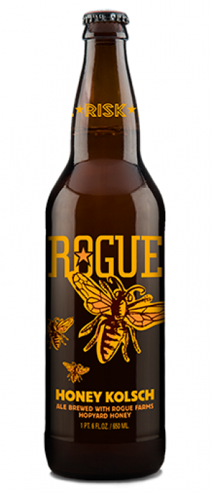 Honey Kölsch by Rogue in Oregon, United States