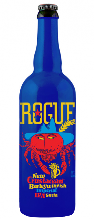 New Crustacean Barleywineish Imperial IPA Sorta by Rogue in Oregon, United States