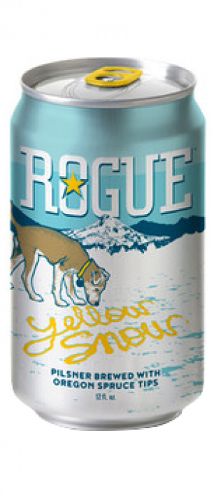 Yellow Snow Pilsner by Rogue in Oregon, United States