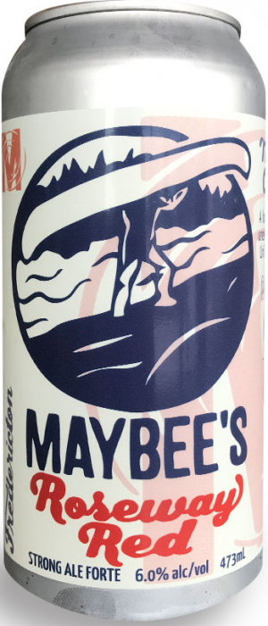 Roseway Red by Maybee Brew Co. in New Brunswick, Canada