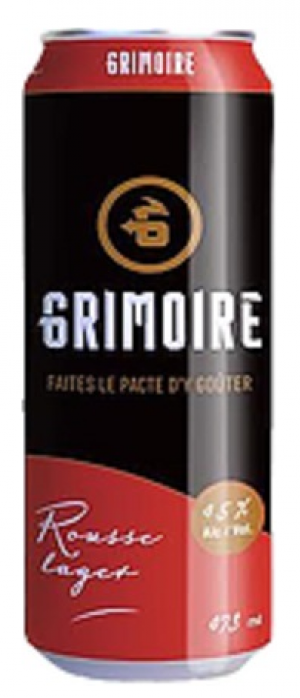 Rousse Lager by Le Grimoire Microbrasserie in Québec, Canada