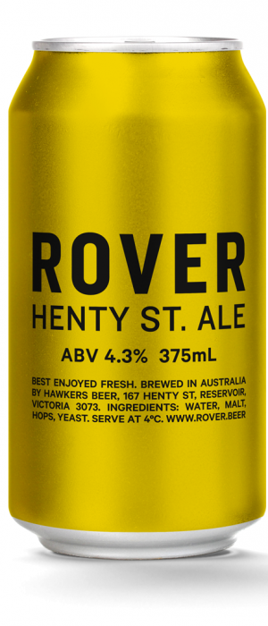 Rover Henty St. Ale by Hawkers in Victoria, Australia