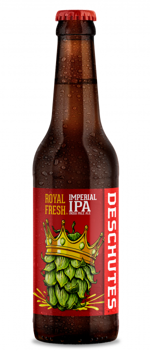 Royal Fresh Imperial IPA by Deschutes Brewery in Oregon, United States