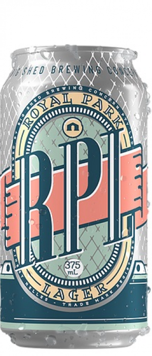 Royal Park Lager by Big Shed Brewing Co. in South Australia, Australia