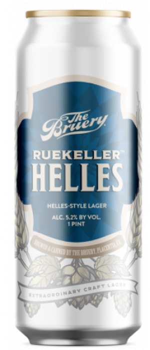 Ruekeller Helles by The Bruery in California, United States