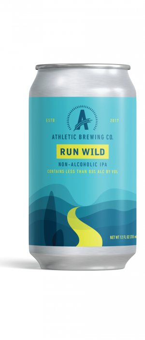 Run Wild IPA by Athletic Brewing Company in Connecticut, United States