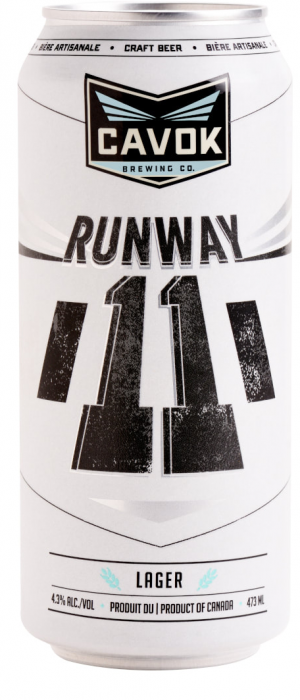 Runway 11 by Cavok Brewing Co. in New Brunswick, Canada