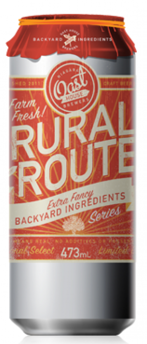 Rural Route #1: Strawberry Rhubarb Ale by Niagara Oast House Brewers in Ontario, Canada