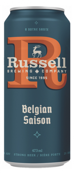 Belgian Saison by Russell Brewing Company in British Columbia, Canada