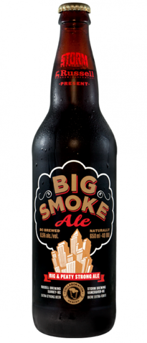 Big Smoke by Russell Brewing Company in British Columbia, Canada