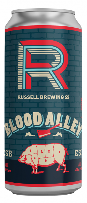 Blood Alley by Russell Brewing Company in British Columbia, Canada