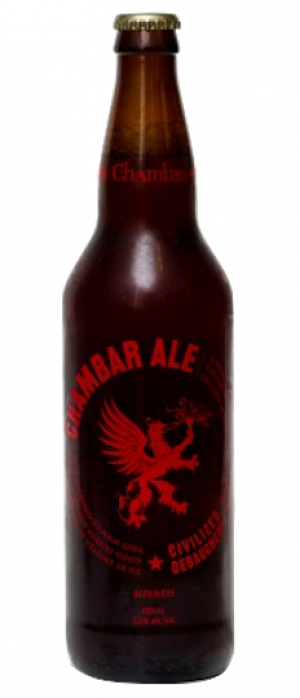 Chamber Ale by Russell Brewing Company in British Columbia, Canada